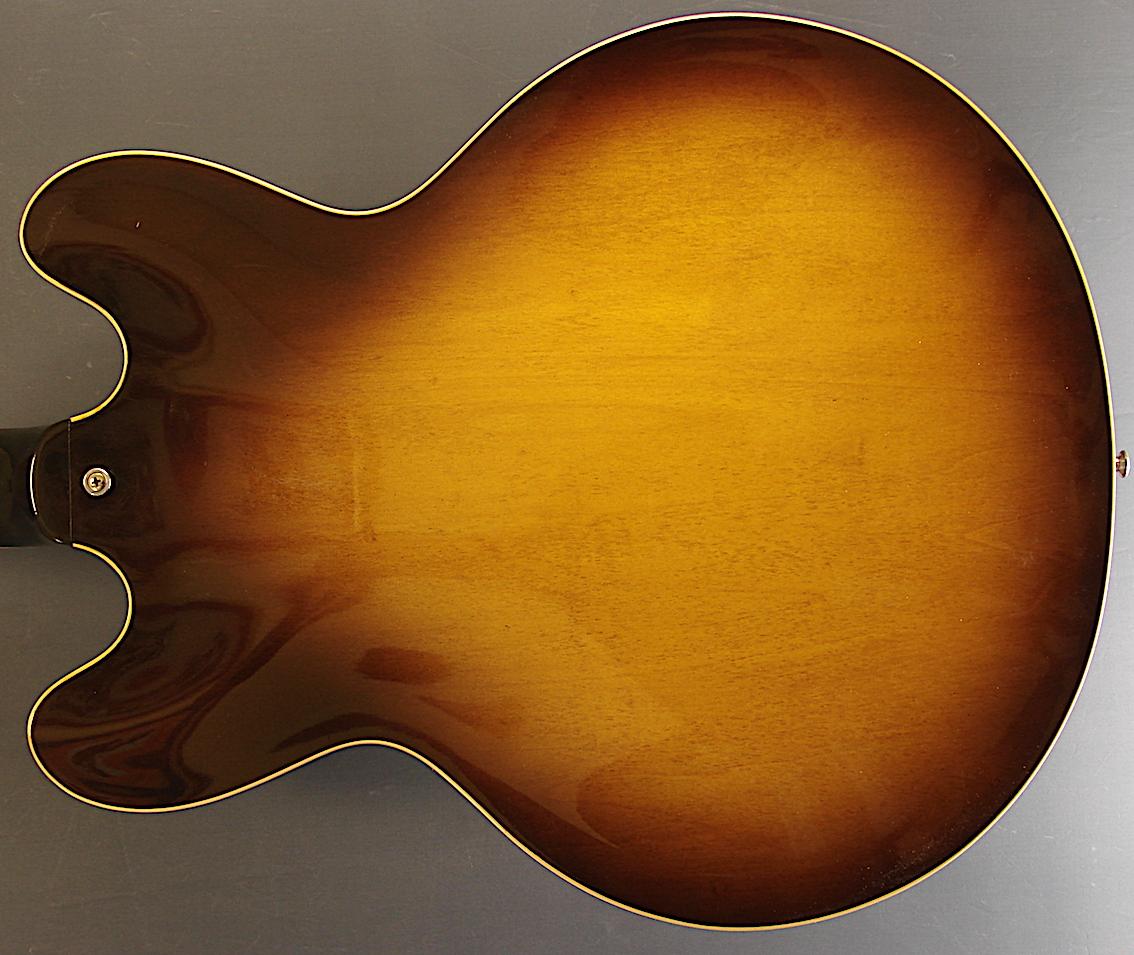 4 x Potiknöpfe für E-Gitarre im Les Paul Style gold transparent Hat