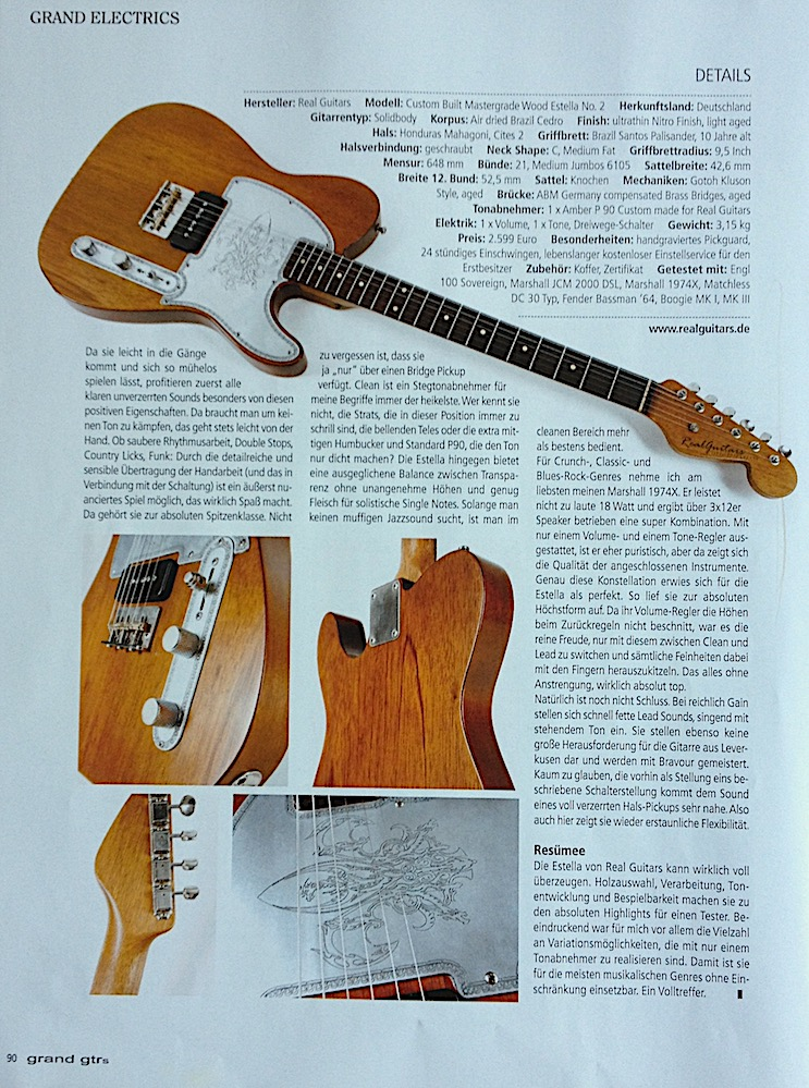 Realguitars - Handbuilt Guitars